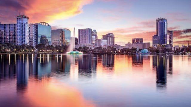 Orlando FL skyline