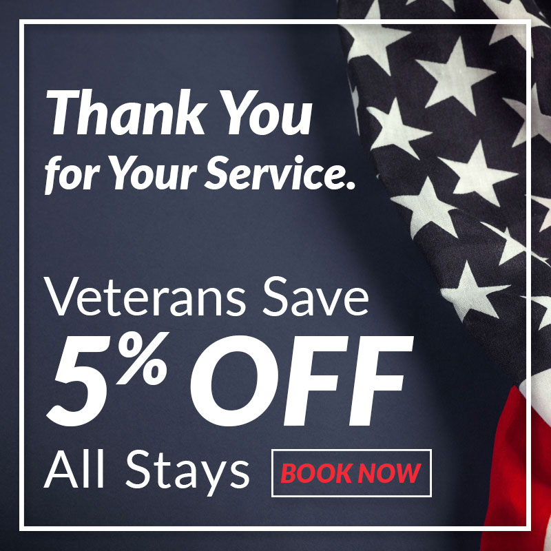 Paradise Oaks RV Resort Veterans Special