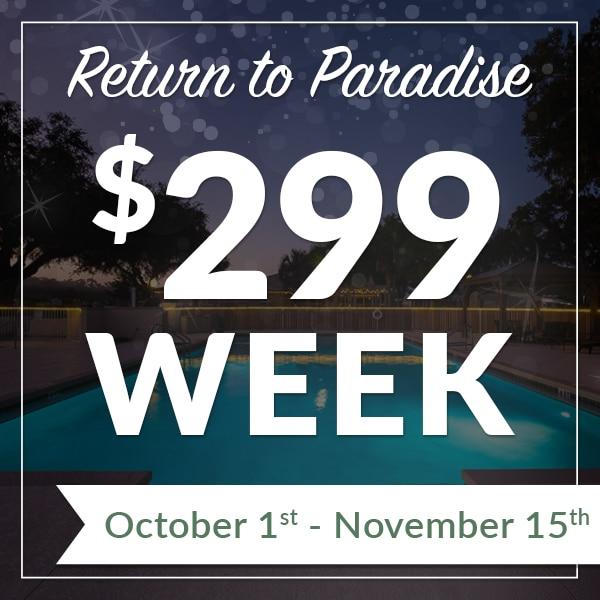 299 week special